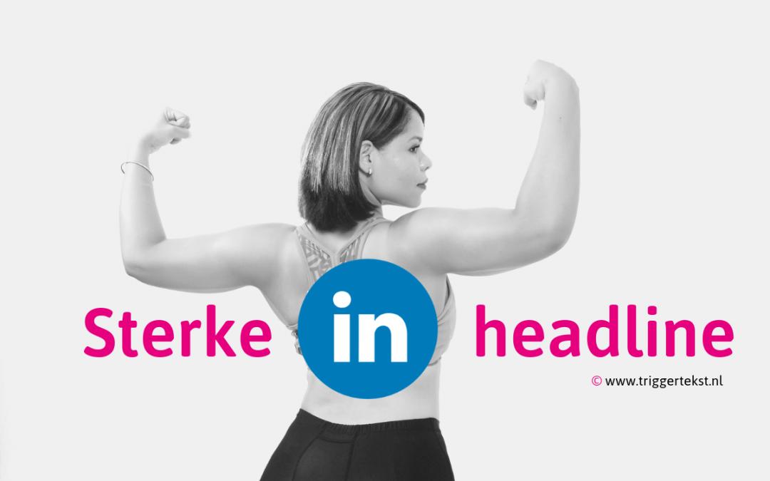 Headline LinkedIn profiel