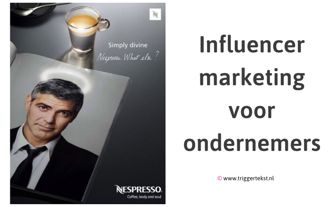 Influencer marketing voor ondernemers - Trigger Tekst