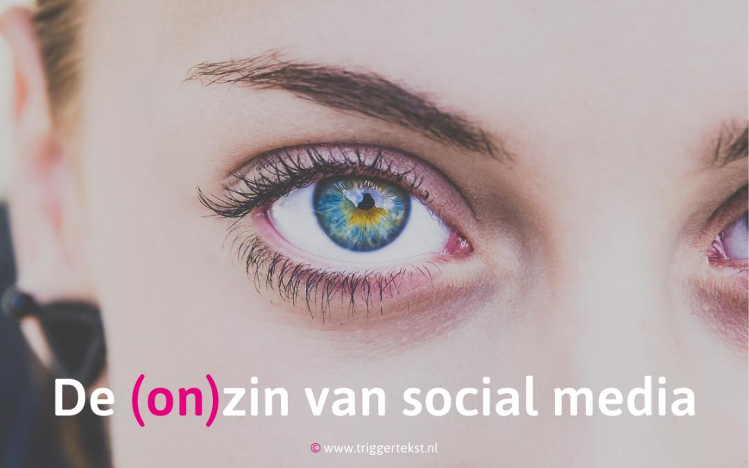 Social media voor ondernemers: (on)zinnig?