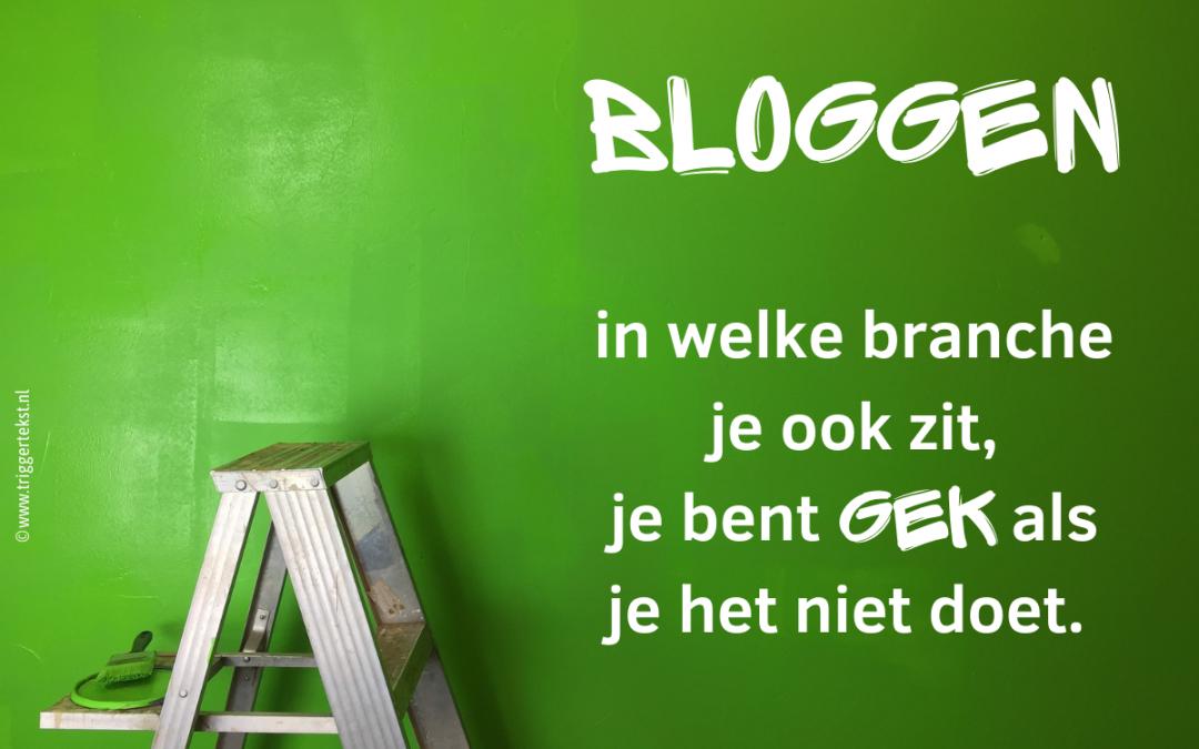 Bloggen voor ondernemers: een must (in welke branche dan ook!)