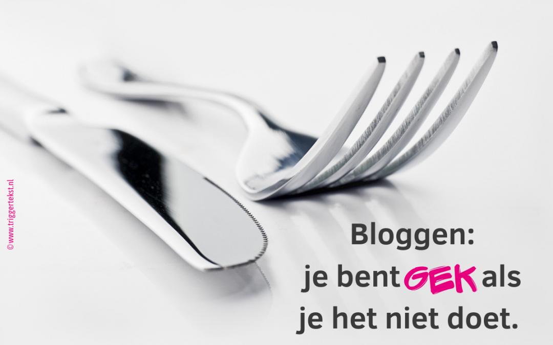 Bloggen belangrijk voor ondernemers (vindbaar, zichtbaar en herkenbaar)